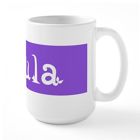 Doula Periwinkle Large Mug