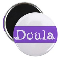 Doula Periwinkle Magnet
