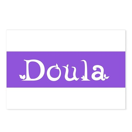 Doula Periwinkle Postcards (Package of 8)
