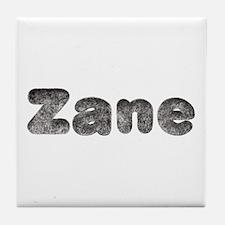 Zane Wolf Tile Coaster