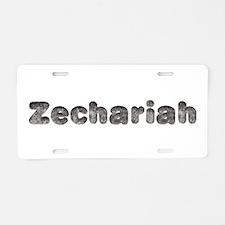 Zechariah Wolf Aluminum License Plate