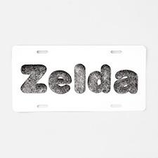 Zelda Wolf Aluminum License Plate