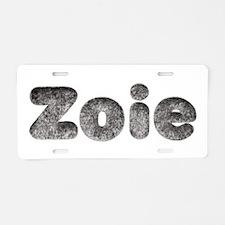 Zoie Wolf Aluminum License Plate