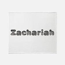 Zachariah Wolf Throw Blanket
