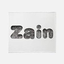 Zain Wolf Throw Blanket