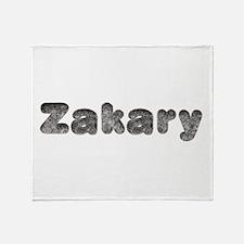Zakary Wolf Throw Blanket