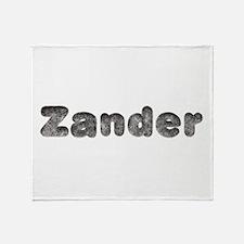 Zander Wolf Throw Blanket