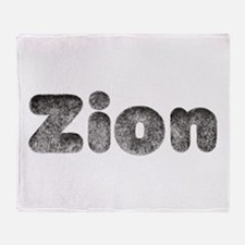 Zion Wolf Throw Blanket