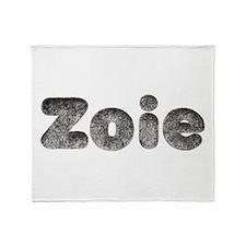 Zoie Wolf Throw Blanket