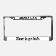 Zachariah Wolf License Plate Frame