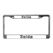 Zelda Wolf License Plate Frame