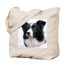 Border Collie Head Study Female 2 Tote Bag