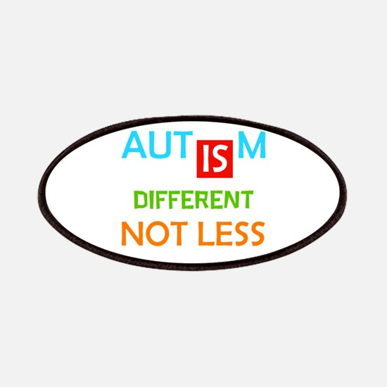 Autism Is Different Not Less Patch
