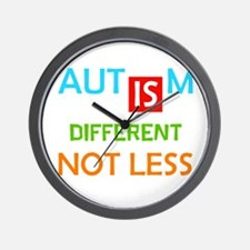 Autism Is Different Not Less Wall Clock