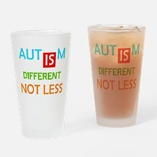 Autism Is Different Not Less Drinking Glass