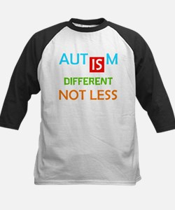 Autism Is Different Not Less Baseball Jersey