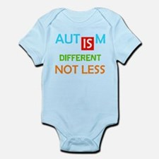 Autism Is Different Not Less Body Suit
