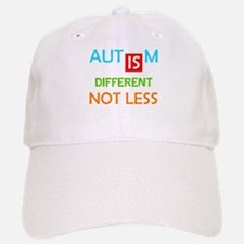Autism Is Different Not Less Baseball Baseball Baseball Cap