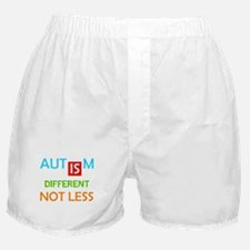 Autism Is Different Not Less Boxer Shorts
