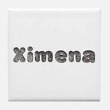 Ximena Wolf Tile Coaster