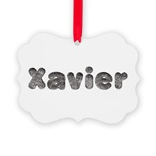 Xavier Wolf Ornament