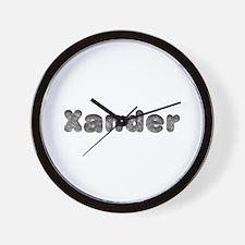 Xander Wolf Wall Clock