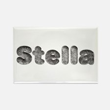 Stella Wolf Rectangle Magnet