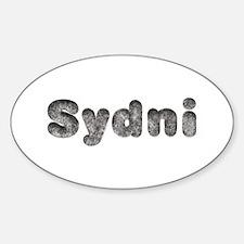 Sydni Wolf Oval Decal