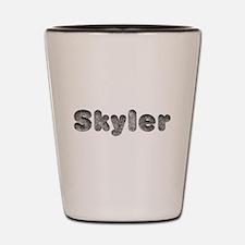Skyler Wolf Shot Glass