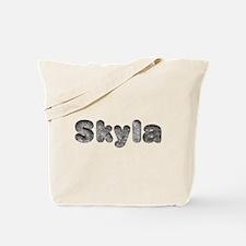 Skyla Wolf Tote Bag