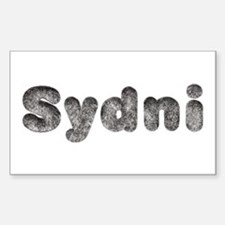 Sydni Wolf Rectangle Decal