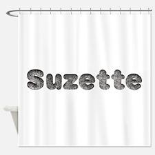Suzette Wolf Shower Curtain