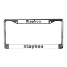 Stephon Wolf License Plate Frame