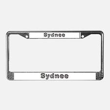 Sydnee Wolf License Plate Frame