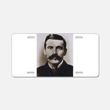 doc holliday Aluminum License Plate