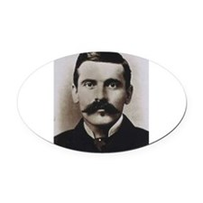 doc holliday Oval Car Magnet