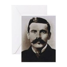 doc holliday Greeting Cards
