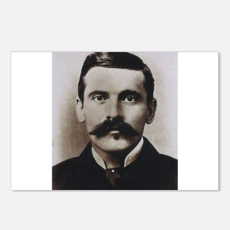 doc holliday Postcards (Package of 8)