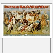 buffalo bill cody Yard Sign