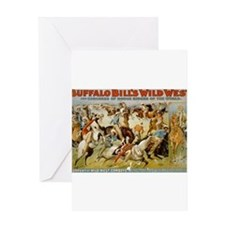 buffalo bill cody Greeting Cards