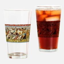 buffalo bill cody Drinking Glass