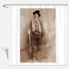 billy,the,kid Shower Curtain
