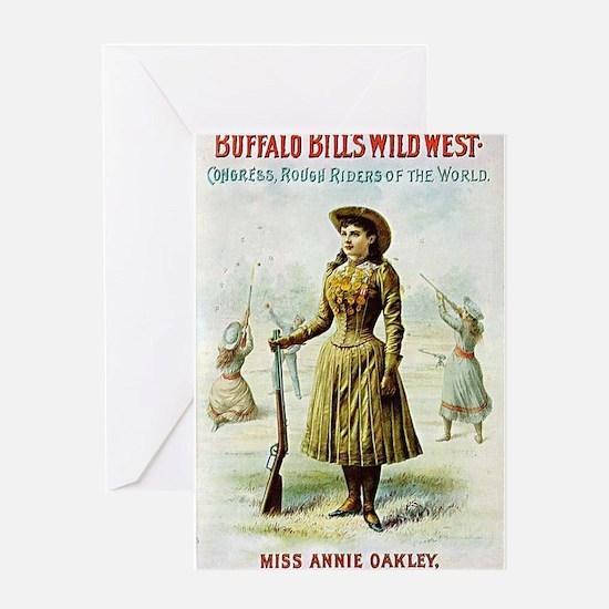 annie oakley Greeting Cards