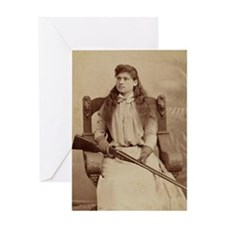 annie oakley Greeting Cards