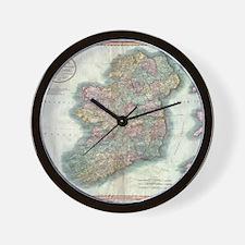 Vintage Map of Ireland (1799) Wall Clock