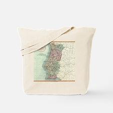 Vintage Map of Portugal (1801) Tote Bag