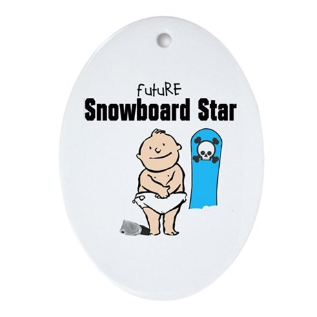 Future Snowboarder Boy Ornament
