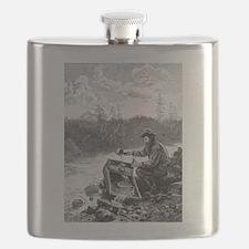 Funny Nostalgia Flask