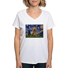 Starry Night Silky Terrier Shirt