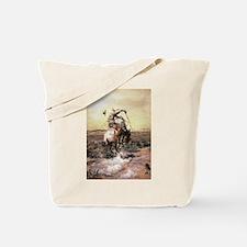 cowboy art Tote Bag